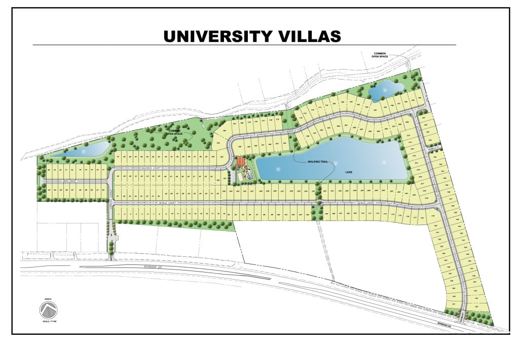 University Villas Lot Selection