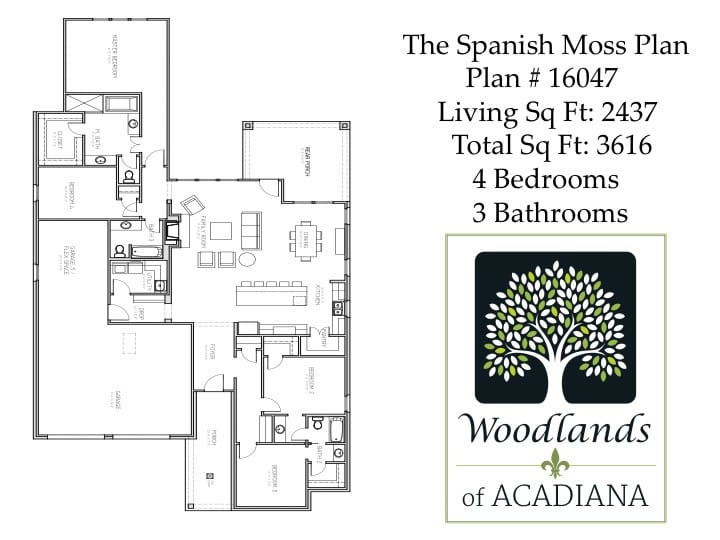 Spanish Moss Floor Plan