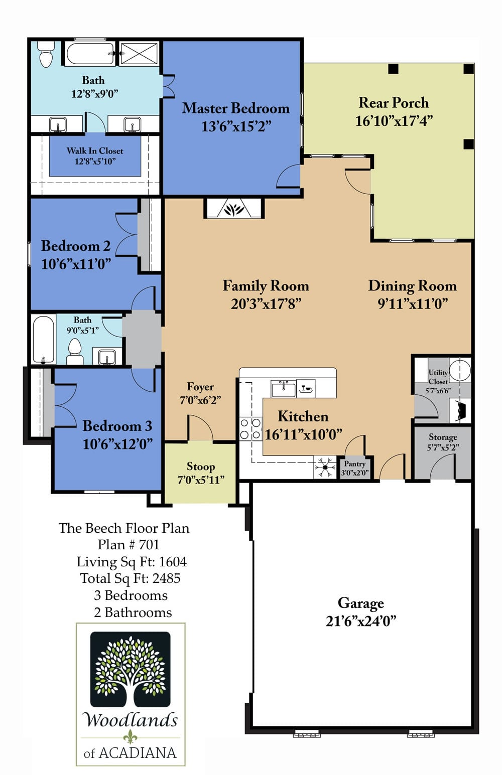 Beech Floor Plan